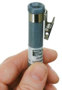 Dosimetri a penna per raggi X e gamma e ricaricatore