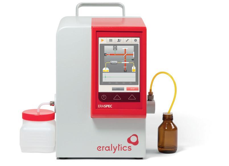 ERASPEC – analizzatore combustibili NIR MID – FTIR