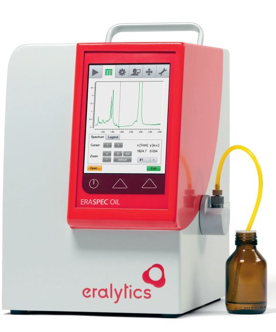 ERASPEC OIL – analizzatore FTIR di oli lubrificanti
