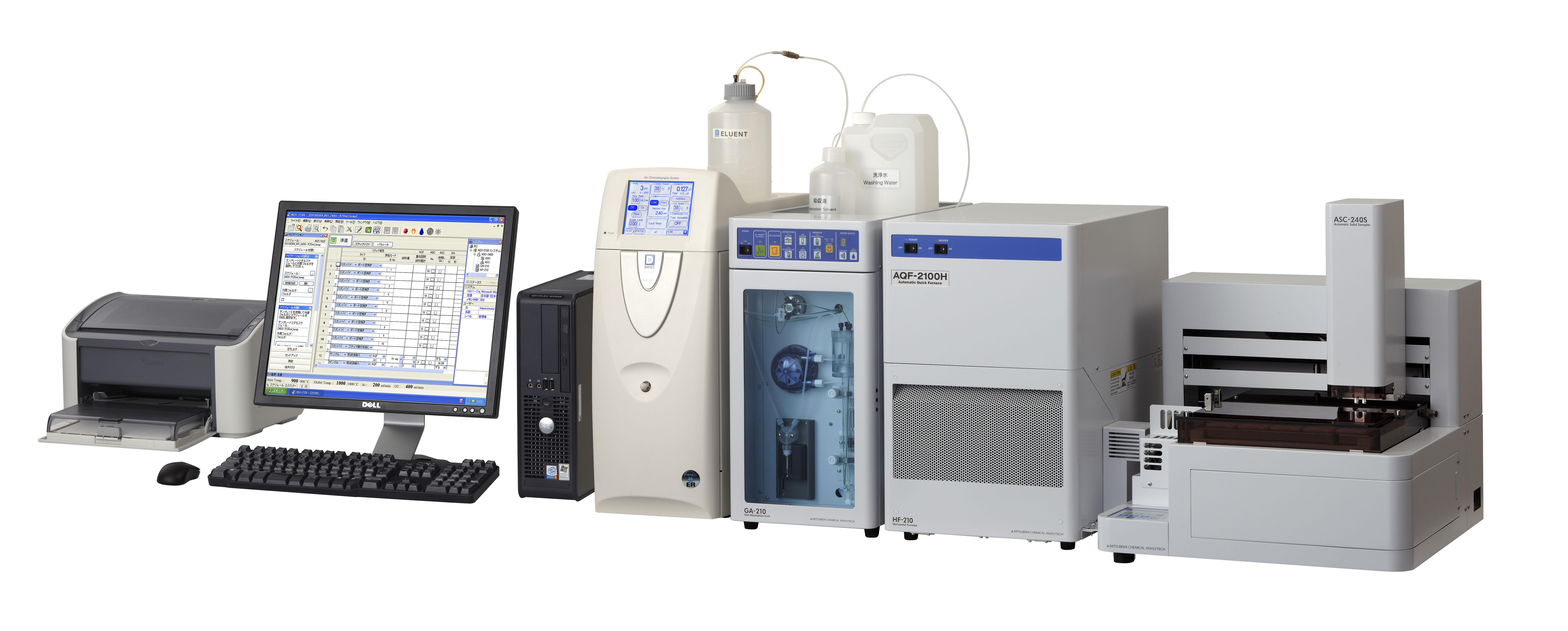 Combustione – Cromatografia Ionica (C-IC) – AQF-2100H
