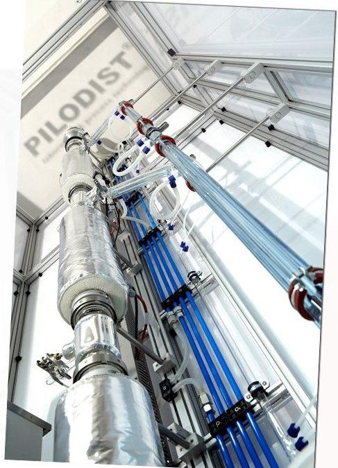 Impianti pilota PILODIST GmbH – Distillatori di petrolio greggio