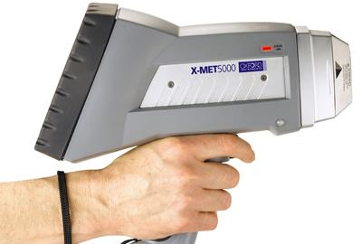 Spettrometro portatile Oxford X-MET5000