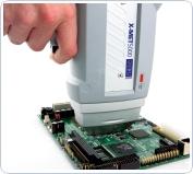 Screening di una scheda elettronica per conformità RoHS RAEE